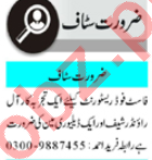 Chef & Cook Jobs 2020 in Hotel