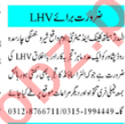 Lady Doctor & Lady Health Visitor Jobs 2020 in KPK