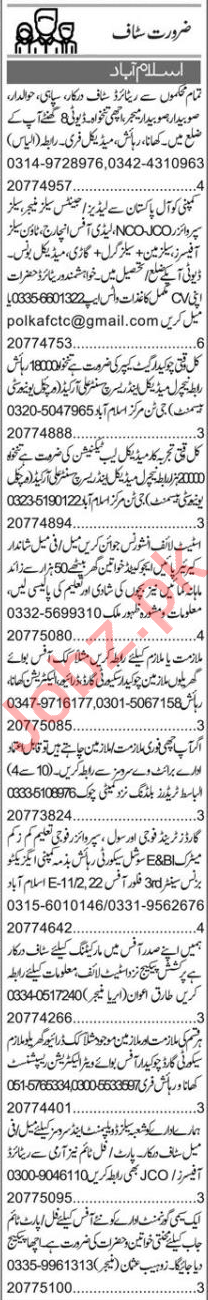 Accountant & Executive Manager Jobs 2020 in Islamabad
