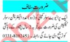 Electrician & Solar Technician Jobs 2020 in Peshawar