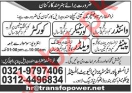 Transfopower Industries Jobs 2020 for Winder