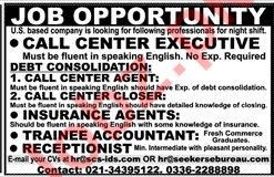 Insurance Agent & Trainee Accountant Jobs 2020