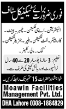 Moawin Facilities Management Private Limited Jobs 2020
