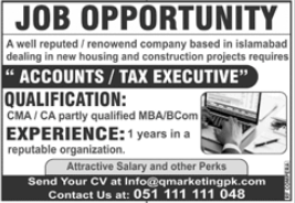 Marketing Company Jobs 2020 in Rawalpindi