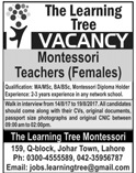 The Learning Tree Jobs 2020 in Lahore