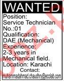 Service Technician & Mechanical Technician Jobs 2020
