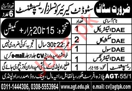 AGT Institute of Technical & Professional Education Jobs