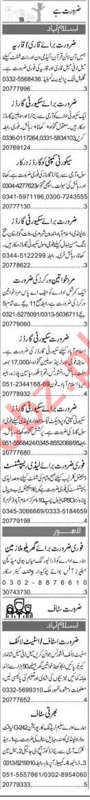 Civil Supervisor & Promotion Officer Jobs 2020 in Islamabad