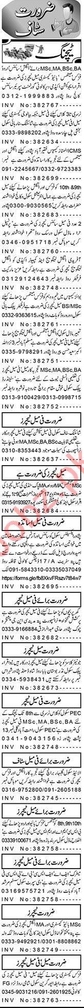 Coordinator & Subject Specialist Jobs 2020 in Peshawar