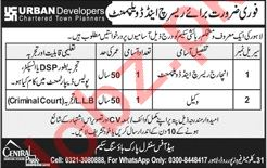 Incharge Research & Development Jobs in Urban Developers