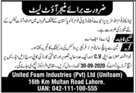 United Foam Industries Jobs 2020 For Managers Outlet