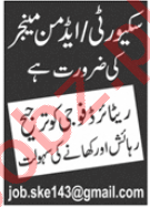 Admin Manager & Security Manager Jobs 2020 in Lahore