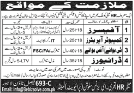 3 E Business Solutions Jobs 2020 For Lahore