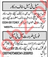Khabrain Sunday Islamabad Classified Ads 20 Sept 2020