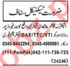 Nawaiwaqt Sunday Classified Ads 20 Sept 2020 for Technical
