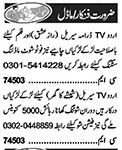 Actors & Models Jobs 2020 For Media Group in Lahore