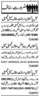 Daily Nawaiwaqt Newspaper Classified Jobs 2020 in Lahore