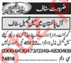 Data Entry Operator & Call Operator Jobs 2020 in Lahore