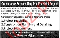 Project Feasibility Consultant & Planning Consultant Jobs