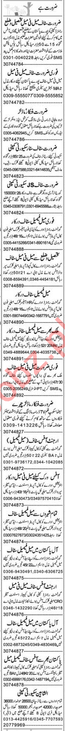 Finance Manager & Secretary Jobs 2020 in Lahore