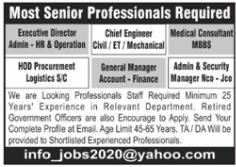 Management Staff Jobs 2020 in Peshawar KPK