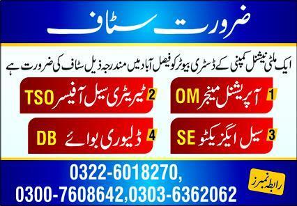 Distributors Jobs 2020 in Faisalabad