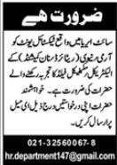 Technical Staff Jobs 2020 in Karachi