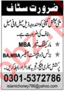 Marketing Manager & Business Development Officer Jobs 2020