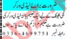 Mashriq Sunday Classified Ads 27 Sept 2020 Medical Staff