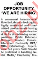 Nation Sunday Classified Ads 27 Sept 2020 for Managers