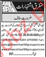 Recovery Officer & Admin Officer Jobs 2020 in Islamabad
