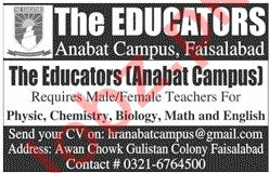 Male & Female Teacher Jobs 2020 The Educators Anabat Campus