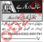 Lady Security Guard & Security Manager Jobs 2020