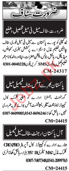 Assistant Manager & Admin Manager Jobs 2020 in Islamabad
