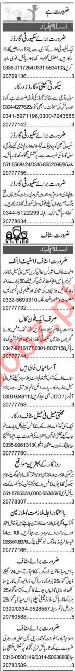 Promotion Officer & Architect Jobs 2020 in Islamabad