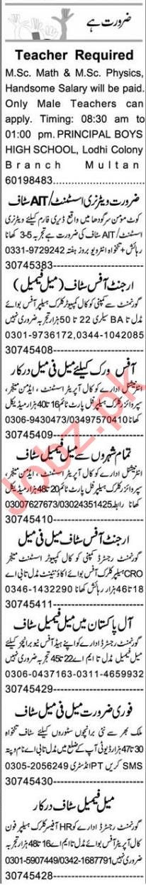 Web Developer & Account Manager Jobs 2020 in Multan