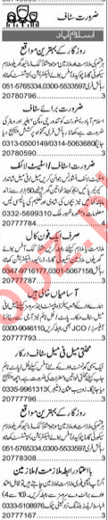 Insurance Agent & Supervisor Jobs 2020 in Islamabad