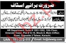 LTV Driver & Office Attendant Jobs 2020 in Karachi
