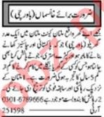Cook & Kitchen Helper Jobs 2020 in Multan