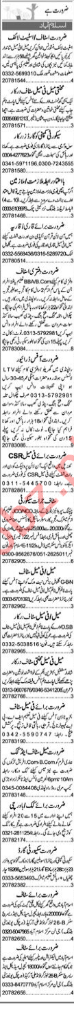 Insurance Agent & Field Officer Jobs 2020 in Islamabad