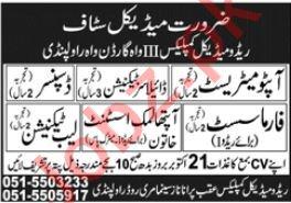 Redo Medical Complex Rawalpindi Jobs 2020 for Pharmacist