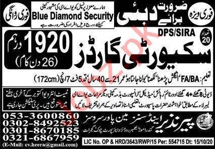 Security Guard Jobs Career Opportunity in Dubai