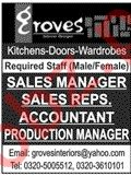 Groves Interior Design Lahore Jobs 2020 Production Manager