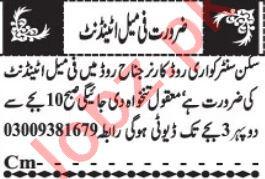 Female Attendant & LHV Jobs 2020 in Quetta