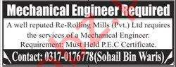 Engineer & Mechanical Engineer Jobs 2020 in Islamabad