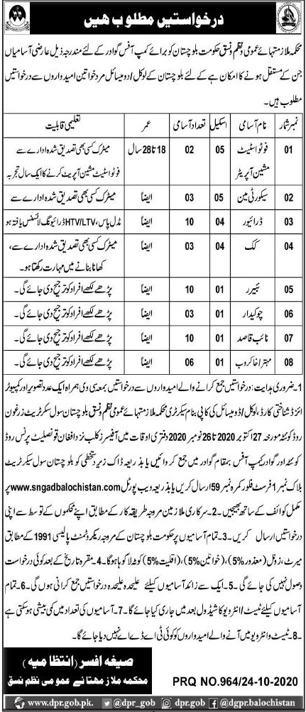 Security Guard and Photo state Machine Operator Jobs 2020