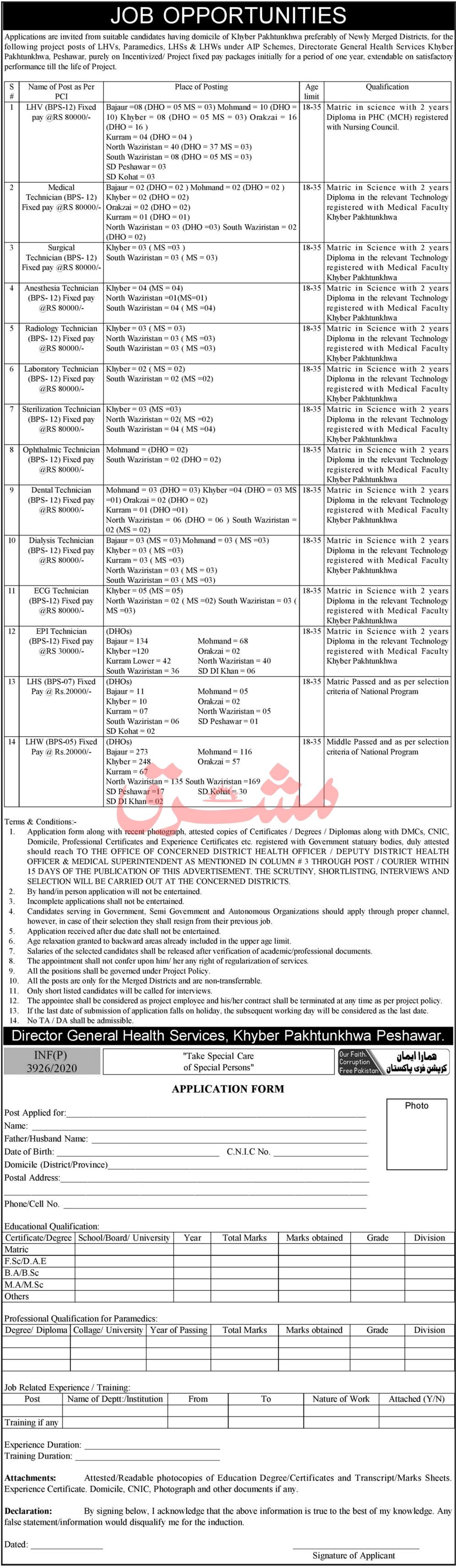 Health Department Jobs 2020 For Medical Staff
