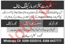 Assistant Manager Marketing & Sales Executive Jobs 2020