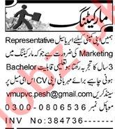 Aaj Sunday Classified Ads 25 Oct 2020 for Marketing Staff