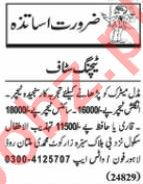Nawaiwaqt Sunday Classified Ads 25 Oct 2020 for Teaching